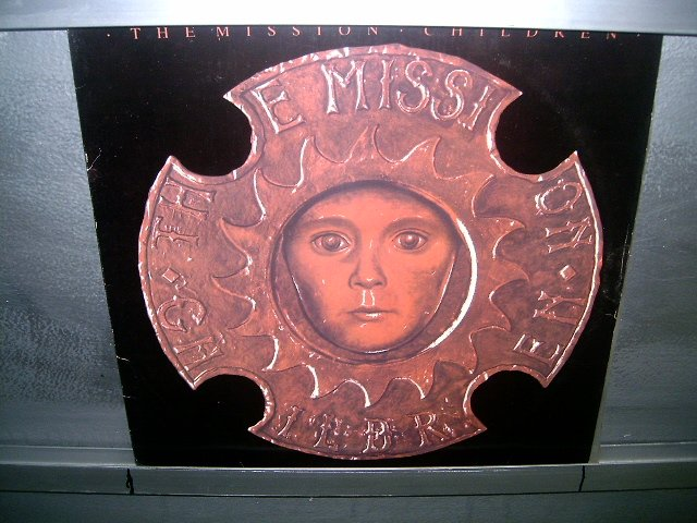 THE MISSION children LP 1988 ROCK G�TICO SEMI-NOVO MUITO RARO VINIL