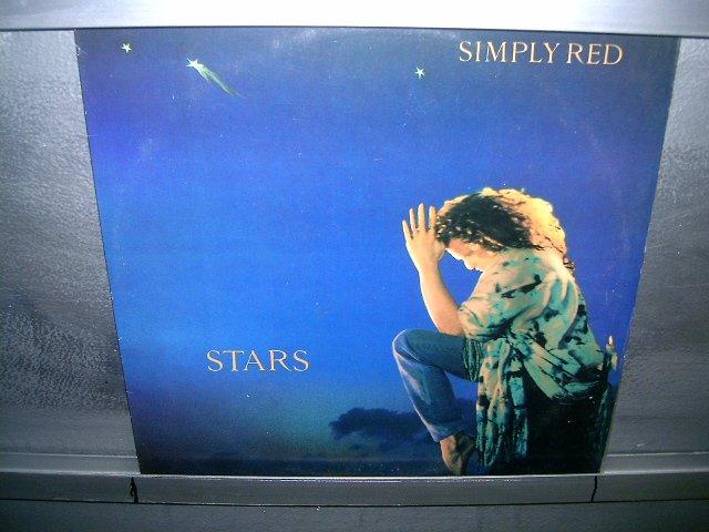 SIMPLY RED stars LP 1991 POP MUITO RARO VINIL