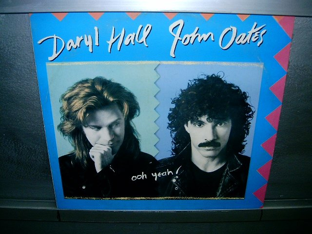 HALL & OATES ooh yeah! LP 1988 POP SEMI-NOVO MUITO RARO VINIL
