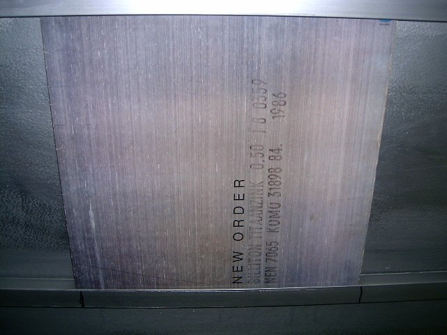 NEW ORDER brotherhood LP 1987 P�S-PUNK MUITO RARO VINIL