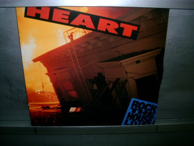 HEART rock the house live LP 1991 POP/HARD ROCK EXCELENTE (MUITO RARO VINIL