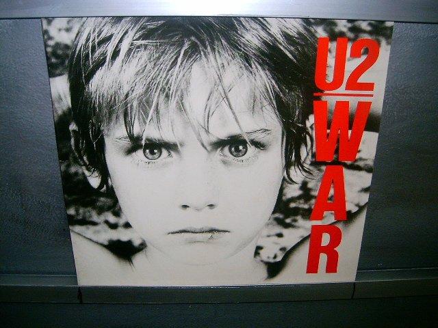 U2 war LP 1985 ROCK 80'S MUITO SEMI-NOVO MUITO RARO VINIL