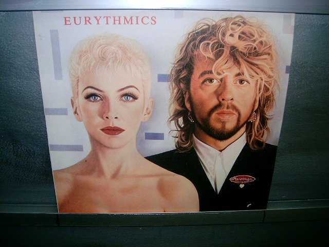EURYTHMICS revenge LP 1986 SYNTH POP SEMI-NOVO MUITO RARO VINIL