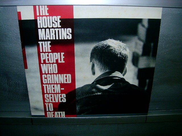 THE HOUSEMARTINS the people who grinned themselves to death LP 1987 ALTERNATIVO SEMI-NOVO