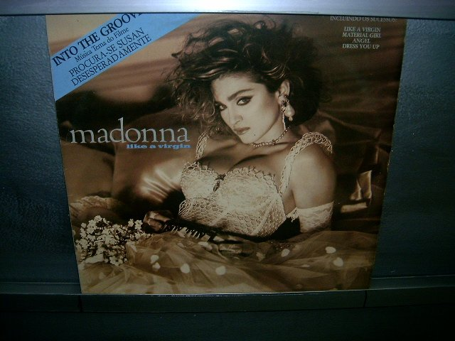 MADONNA like a virgin LP 1985 POP EXCELENTE MUITO RARO VINIL