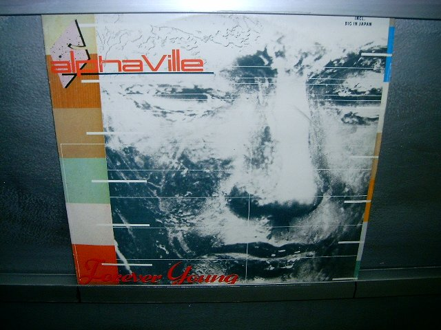 ALPHAVILLE forever young LP 1985 SYNTH POP MUITO RARO VINIL