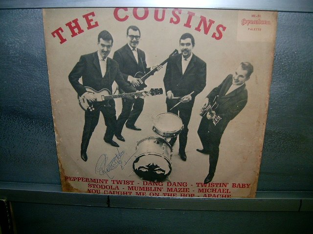 THE COUSINS twist with the cousins LP 196? ROCK MUITO RARO VINIL