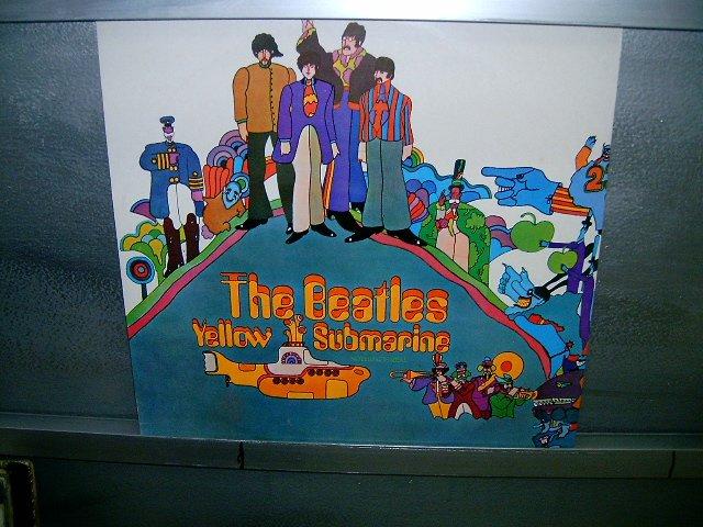 THE BEATLES yellow submarine LP 1969 ROCK MUITO RARO VINIL