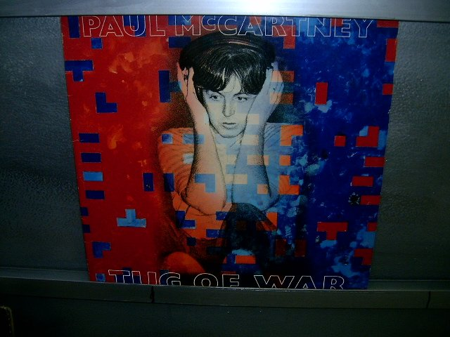 PAUL McCARTNEY tug of war LP 1982 ROCK**