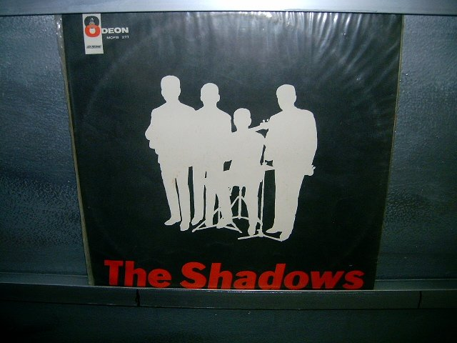 THE SHADOWS shades of rock LP 60S ROCK MUITO RARO VINIL