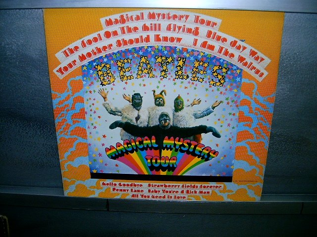 THE BEATLES magical mystery tour LP 1967 ROCK MUITO RARO VINIL