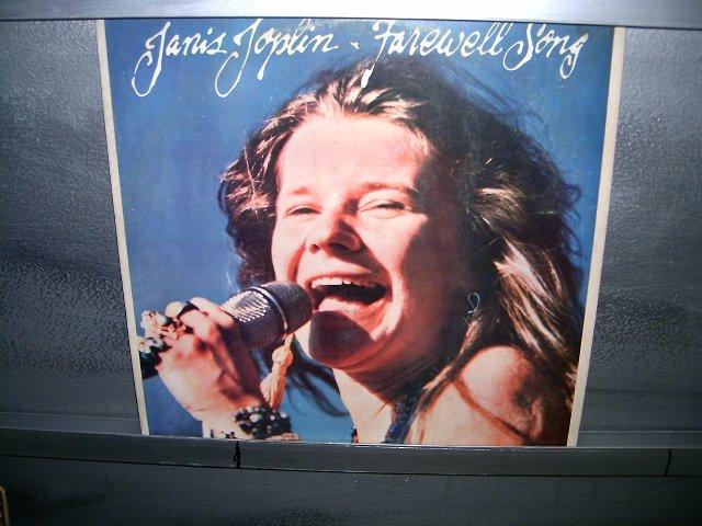 JANIS JOPLIN farewell song LP 1982 ROCK SEMI-NOVO MUITO RARO VINIL