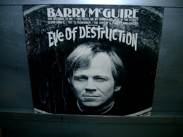 BARRY McGUIRE eve of destruction LP 1965 ROCK MUITO RARO VINIL