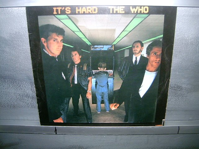 THE WHO it's hard LP 1982 ROCK SEMI-NOVO MUITO RARO VINIL