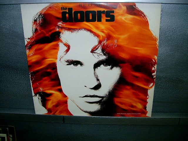 THE DOORS trilha sonora oficial LP 1991 ROCK EXCELENTE MUITO RARO VINIL