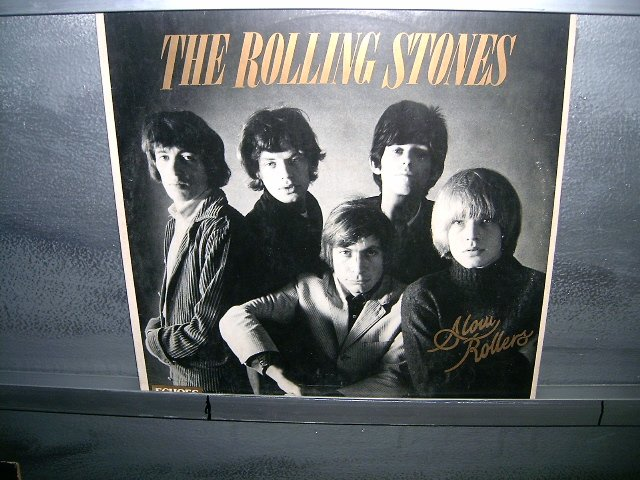THE ROLLING STONES slow rollers LP 1981 ROCK**