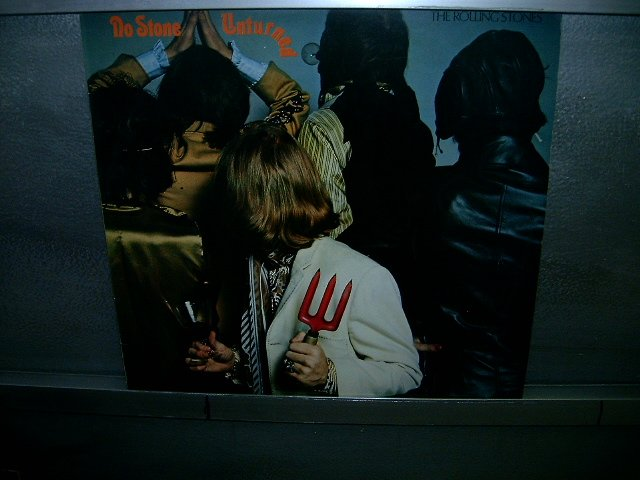 THE ROLLING STONES no stone unturned LP 1983 ROCK**