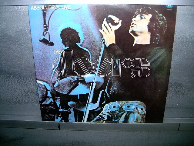 THE DOORS absolutely live 2LP 1987 ROCK EXCELENTE MUITO RARO VINIL