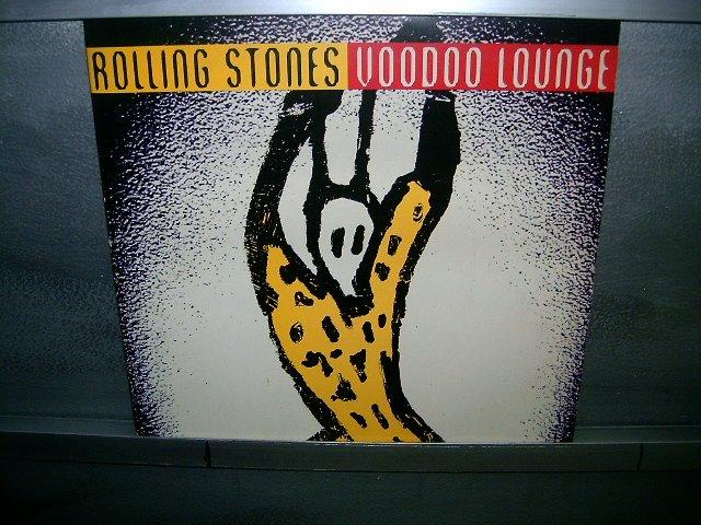 ROLLING STONES voodoo lounge LP 1994 ROCK SEMI-NOVO MUITO RARO VINIL