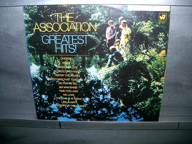 THE ASSOCIATION greatest hits LP 1967 ROCK SEMI-NOVO MUITO RARO VINIL