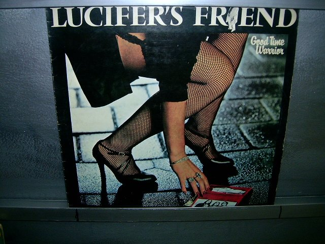 LUCIFER'S FRIEND good time warrioR LP 1978 ROCK MUITO RARO VINIL