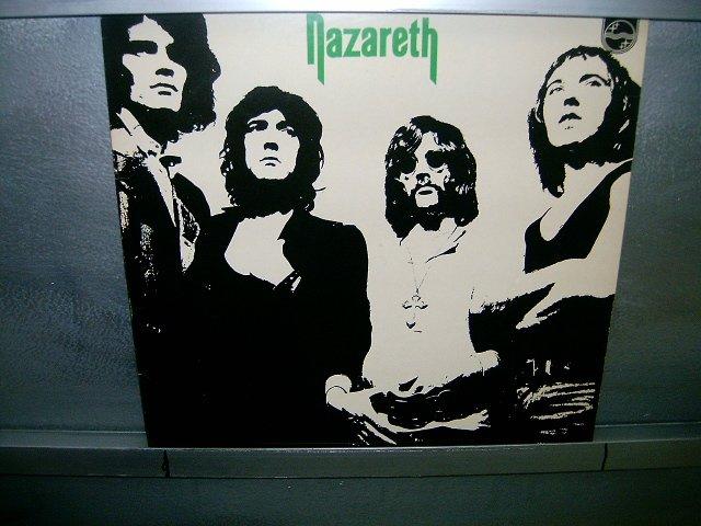 NAZARETH nazareth LP 1976 ROCK EXCELENTE MUITO RARO VINIL