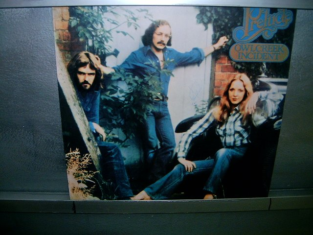 PRELUDE owlcreek incident LP 1976 ROCK EXCELENTE MUITO RARO VINIL