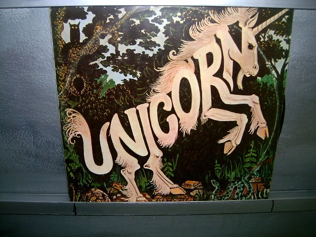 UNICORN blue pine trees LP 1974 ROCK**