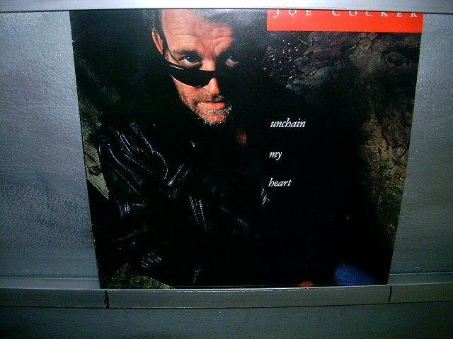 JOE COCKER unchain my heart LP 1987 ROCK SEMI-NOVO MUITO RARO VINIL