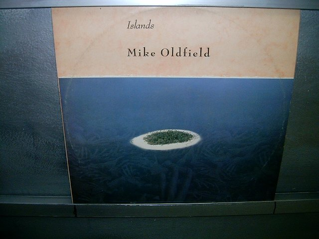MIKE OLDFIELD islands LP 1987 ROCK*