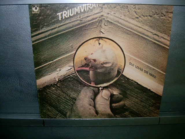 TRIUMVIRAT old loves die hard LP 1976 ROCK**