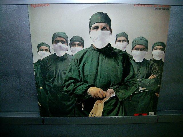 RAINBOW difficult to cure LP 1981 ROCK MUITO RARO VINIL
