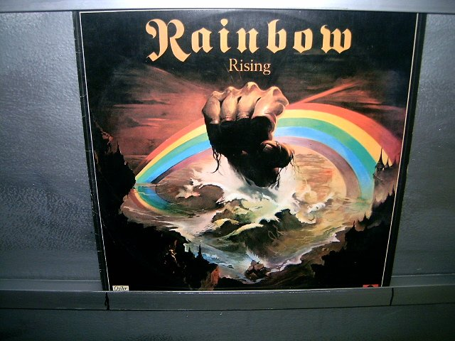 RAINBOW rainbow rising LP 1976 ROCK MUITO RARO VINIL