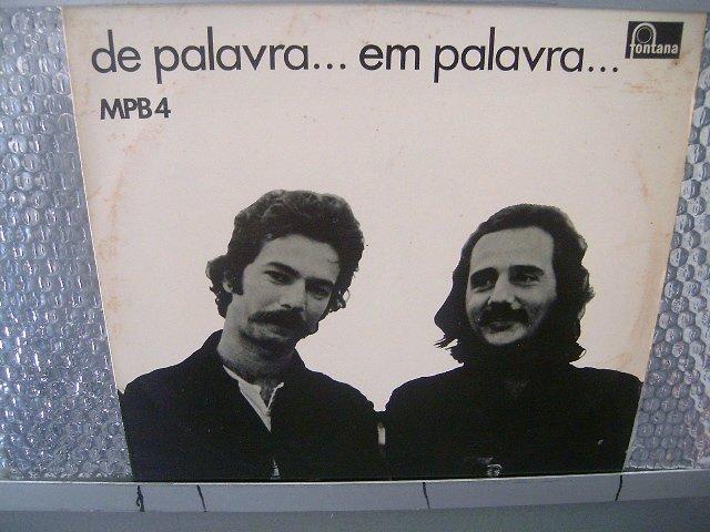 MPB 4 de palavra em palavra LP 1985 MPB EXCELENTE MUITO RARO VINIL