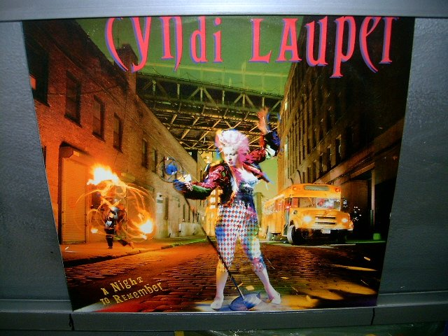 CYNDI LAUPER a night to remember LP 1989 POP SEMI NOVO MUITO RARO VINIL