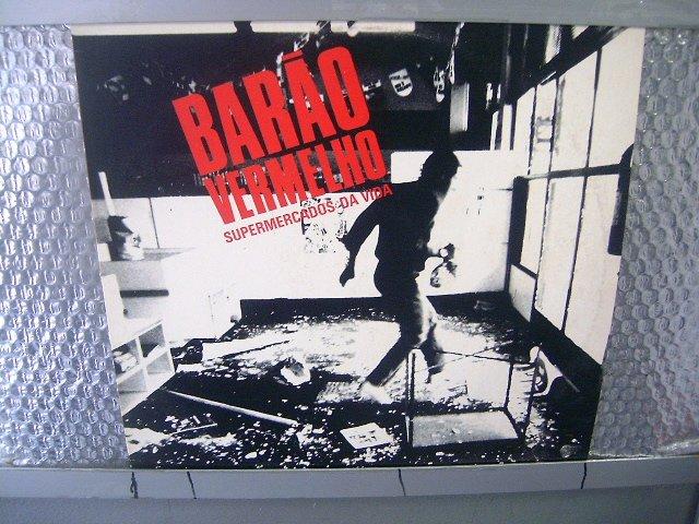 BAR�O VERMELHO supermercados da vida LP 198? ROCK BRASIL EXCELENTE MUITO RARO VINIL
