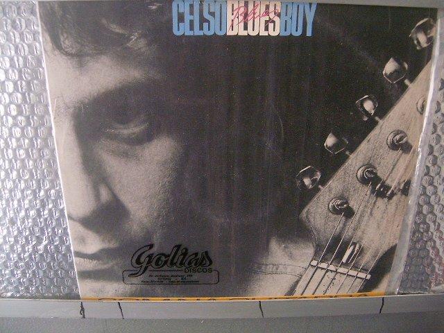 CELSO BLUES BOY som na guitarra LP 1984 ROCK BRASIL SEMI NOVO MUITO RARO VINIL