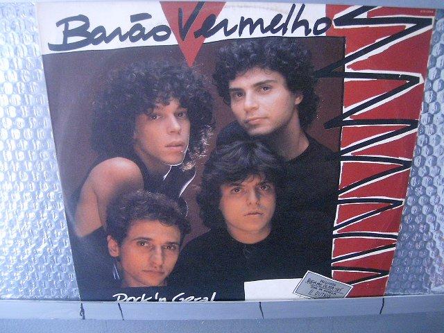 BAR�O VERMELHO rock' geral LP 1987 ROCK BRASIL EXCELENTE MUITO RARO VINIL