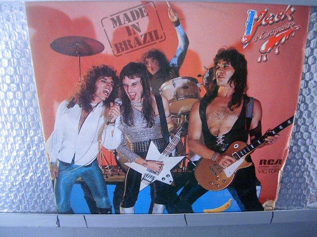 MADE IN BRAZIL jack, o estripador LP 1976 ROCK BRASIL MUITO RARO VINIL