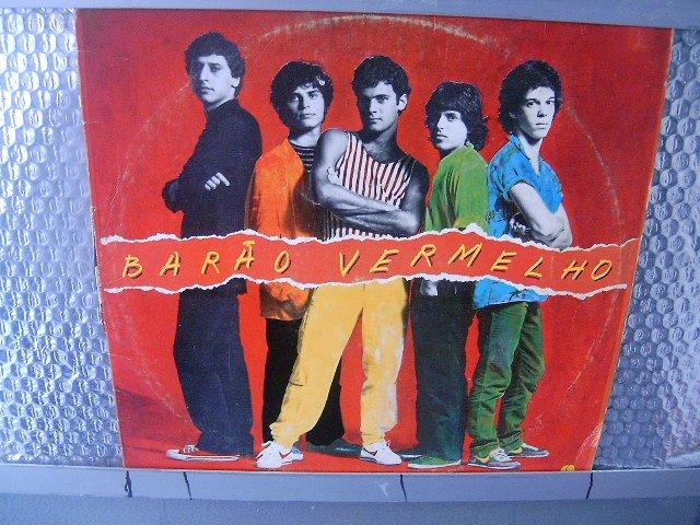BAR�O VERMELHO barão vermelho LP 1982 ROCK BRASIL EXCELENTE MUITO RARO VINIL