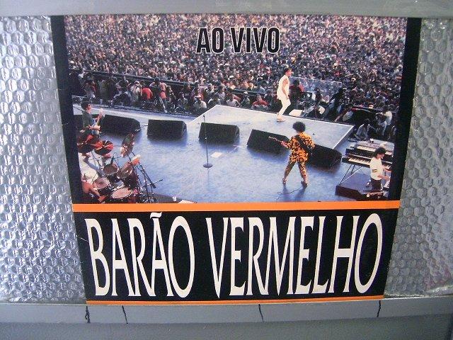 BAR�O VERMELHO barão vermelho ao vivo LP 1992 ROCK BRASIL MUITO RARO VINIL