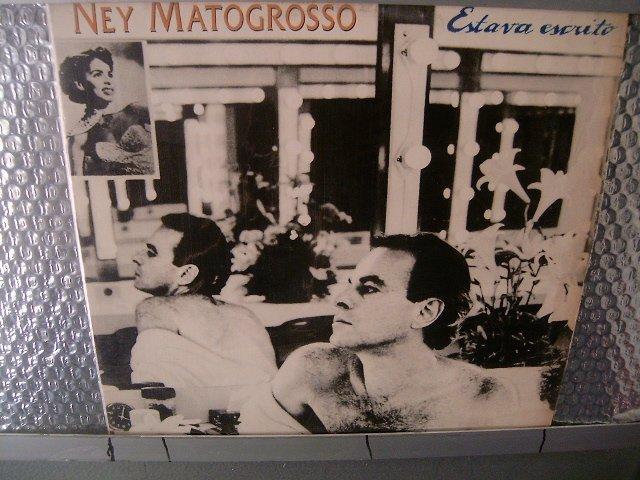 NEY MATOGROSSO estava escrito LP 1994 ROCK BRASIL SEMI NOVO MUITO RARO VINIL