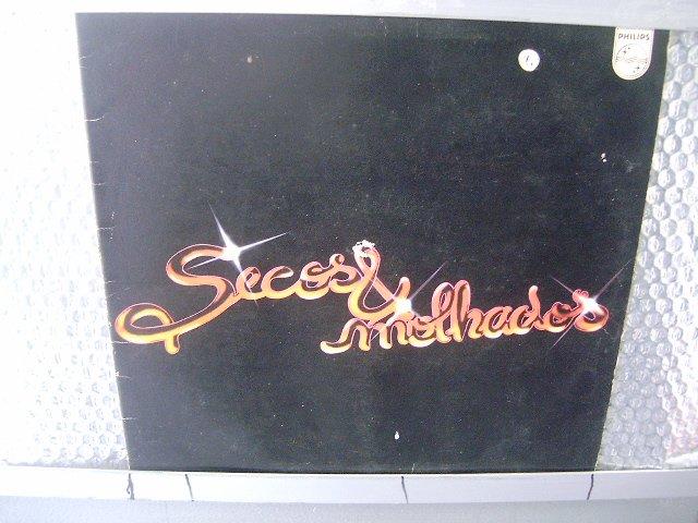 SECOS & MOLHADOS secos & molhados LP 1974 ROCK BRASIL EXCELENTE MUITO RARO VINIL
