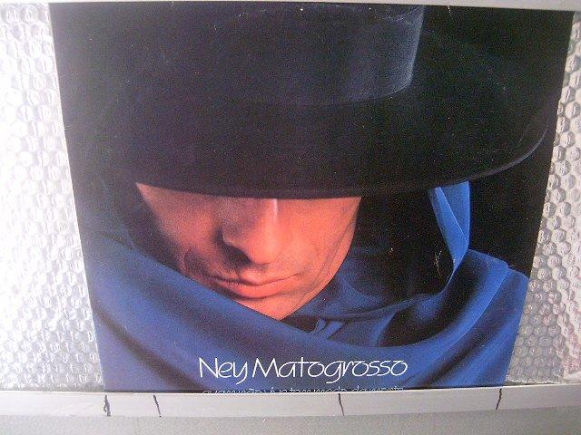 NEY MATOGROSSO quem não vive tem medo da morte LP 1988 ROCK BRASIL SEMI NOVO MUITO RARO VINIL