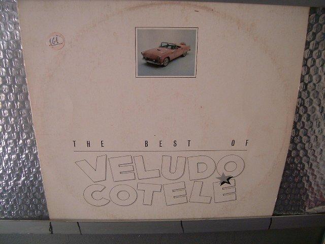 VELUDO COTELE the best of LP ? ROCK BRASIL SEMI NOVO MUITO RARO VINIL