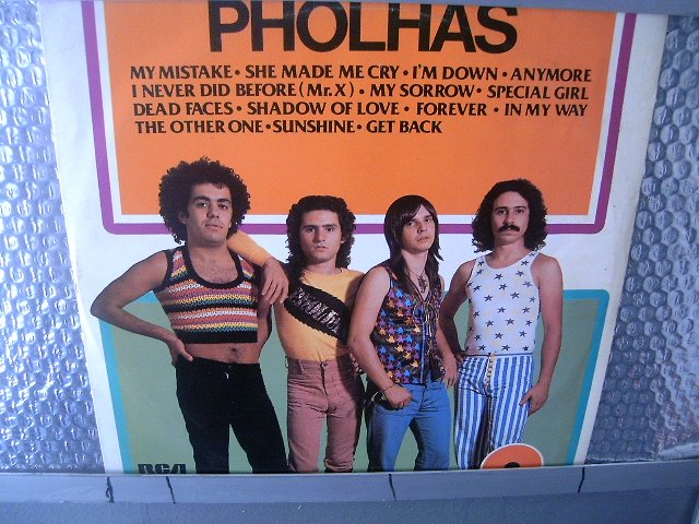 PHOLHAS disco de ouro LP 1977 ROCK BRASIL EXCELENTE MUITO RARO VINIL