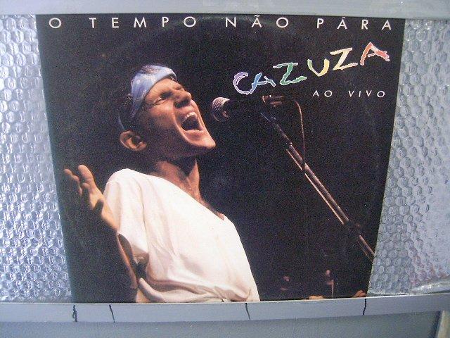 CAZUZA o tempo não para LP 1988 ROCK BRASIL EXCELENTE MUITO RARO VINIL
