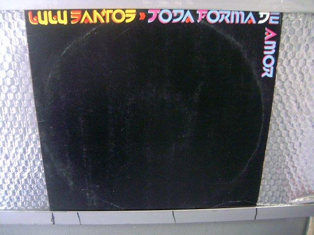 LULU SANTOS toda forma de amor LP 1988 ROCK EXCELENTE MUITO RARO VINIL