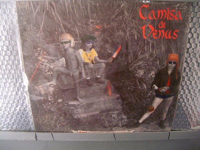CAMISA DE V�NUS batalhões de estranhos LP 1985 ROCK MUITO RARO VINIL