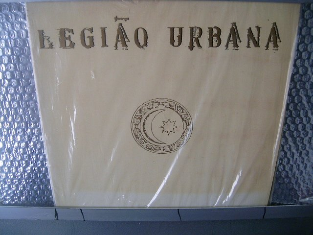LEGI�O URBANA legião urbana LP 1991 ROCK MUITO RARO VINIL